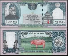 NEPAL 250 RUPEES 1997 P.42 UNC SIGNATURE #13 - Nepal