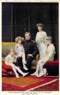 FAMILLES ROYALES Royal Families - ALBERT Roi Des Belges Et Ses Enfants - CPA - Königliche Familien Koninklijke - Royal Families