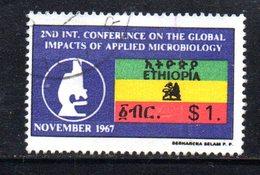 APR1184 - ETIOPIA 1967 ,  1 Dollaro Yvert N. 492  Usato (2380A) - Etiopia