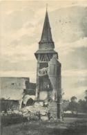 GRANDCOURT CARTE PHOTO ALLEMANDE 1915 AVEC CACHET AU VERSO - Autres Communes