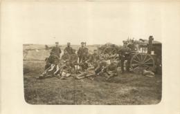 IRLES ENVIRONS CARTE PHOTO ALLEMANDE 1918 - Autres Communes
