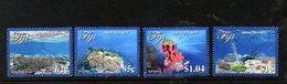 FIJI, 2017, GREAT SEA REEF, 4v. MNH** - Marine Life