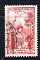 APR1950 - ETIOPIA 1960 , 1 Dollaro  Yvert N. 361  Usato (2380A) - Etiopia