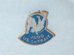 Pin's JUDO, U.S. LE TRAIT - Judo