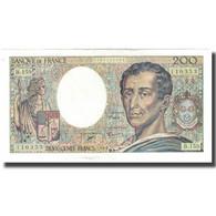 France, 200 Francs, Montesquieu, 1994, TTB+, Fayette:70.2.1, KM:155f - 1992-2000 Ultima Gama