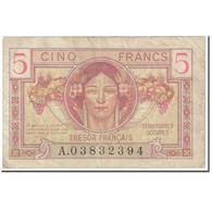 France, 5 Francs, 1947 French Treasury, 1947, Undated (1947), TTB - Tesoro