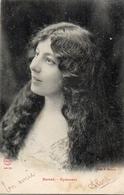 Artiste Femme 1900 - Barat (gymnase, H Manuel Cheveux Longs - Cabaret