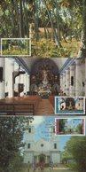 Polynesie - Carte Maximum - 1985 - N°243-244-245 - Edifices Religieux - Cartoline Maximum