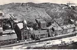 66 - PORT VENDRES : L'Eglise - CPSM Dentelée Noir Blanc Format CPA- Pyrenées Orientales - Port Vendres