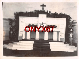 PHOTO 12 X 9 Cms - CHEVILLY LARUE (Val De Marne) L' Autel Pentecôte 1942 - Lieux