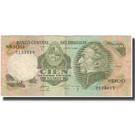 Billet, Uruguay, 100 Nuevos Pesos, KM:62c, TB+ - Uruguay
