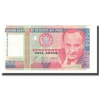 Billet, Pérou, 50,000 Intis, 1988, 1988-06-28, KM:142, NEUF - Peru