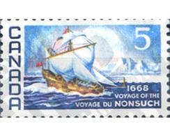"Ref. 129963 * MNH * - CANADA. 1968. 300 ANIVERSARIO DEL VIAJE DE ""NONSUCH"" - Bateaux"