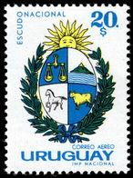 Uruguay 1965 20p Arms Air Unmounted Mint. - Uruguay