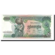 Billet, Cambodge, 500 Riels, Undated (1973-75), KM:16b, NEUF - Cambodge