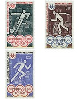 Ref. 27751 * MNH * - CHAD. 1975. GAMES OF THE XXI OLYMPIAD. MONTREAL 1976 . 21 JUEGOS OLIMPICOS VERANO MONTREAL 1976 - Estate 1976: Montreal