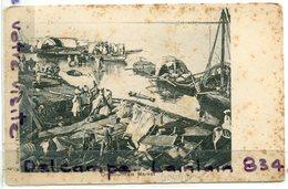 - SOUDAN - KHARTOUM - Omdourmais Market,  Carte Rare, écrite, 1910,  Typiques, Animation, Scans.. - Soedan