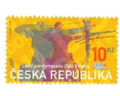 Ref. 217680 * MNH * - CZECH REPUBLIC. 2008. PARALYMPIC GAMES PEKING 2008 . JUEGOS PARALIMPICOS BEIJING 2008 - Nuevos