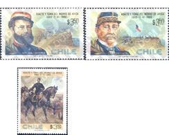 Ref. 29893 * MNH * - CHILE. 1980. CENTENARIO DE LA BATALLA DE MORRO DE AFRICA - Cile