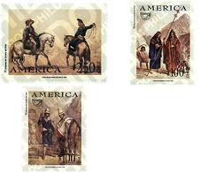 Ref. 49819 * MNH * - CHILE. 1996. AMERICA-UPAEP. REGIONAL COSTUMES . AMERICA-UPAEP 1996 -  TRAJES REGIONALES - Cile