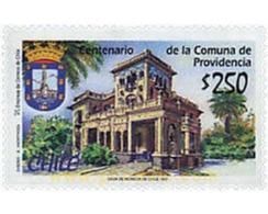 Ref. 204775 * MNH * - CHILE. 1997. CENTENARIO DE LA COMUNA DE PROVIDENCIA - Cile