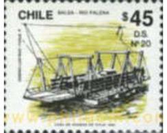 Ref. 180531 * MNH * - CHILE. 1991. TRANSPORTATIONS . TRANSPORTE - Cile