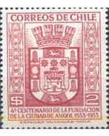 Ref. 303240 * MNH * - CHILE. 1954. 4 CENTENARIO DE LA CIUDAD DE ANGOL - Chile