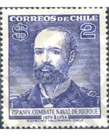 Ref. 303241 * MNH * - CHILE. 1954. 75 ANIVERSARIO DEL COMBATE NAVAL DE IQUIQUE - Chile