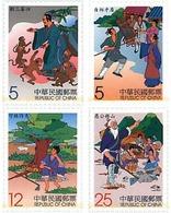 Ref. 78308 * MNH * - FORMOSA. 2001. CHINESE FABLES . FABULAS CHINAS - 1945-... República De China