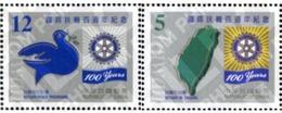 Ref. 179129 * MNH * - FORMOSA. 2005. CENTENARY OF ROTARY CLUB INTERNATIONAL . CENTENARIO DEL ROTARY CLUB INTERNACIONAL - 1945-... República De China