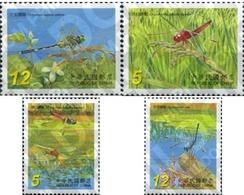Ref. 207735 * MNH * - FORMOSA. 2006. DRAGONFLIES . LIBELULAS - 1945-... República De China