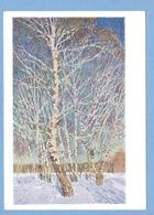 9211 Russia Winter Landscape Artist Igor Grabar Edition 1934 - Schilderijen