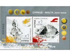 Ref. 212525 * MNH * - CYPRUS. 2008. EURO INTRODUCTION . INTRODUCCION DEL EURO - Cipro (Repubblica)