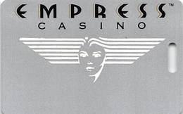 Empress Casino - Joliet IL & Hammond IN - BLANK Slot Card With Signature Strip - Casinokarten