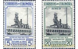 Ref. 176310 * MNH * - COLOMBIA. 1954. IGNAGURACION DE LOS ARTICULOS DE PAZ - Kolumbien