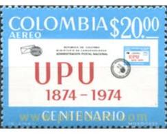 Ref. 177666 * MNH * - COLOMBIA. 1974. UPU CENTENARY . CENTENARIO DE LA U.P.U. - Colombie