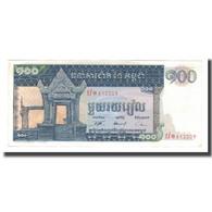 Billet, Cambodge, 100 Riels, Undated (1963-72), KM:12b, NEUF - Cambodge