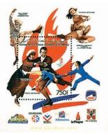 Ref. 73166 * MNH * - COMORO Islands. 1990. XVI OLYMPIC WINTER GAMES. ALBERTVILLE 1992 . 16 JUEGOS OLIMPICOS  INVIERNO AL - Invierno 1948: St-Moritz