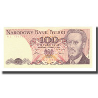Billet, Pologne, 100 Zlotych, 1988, 1988-12-01, KM:143c, NEUF - Pologne
