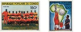 Ref. 73410 * MNH * - CONGO. 1981. AFRICAN VOLLEYBALL CHAMPIONSHIP . CAMPEONATO AFRICANO DE BALONMANO - Hand-Ball