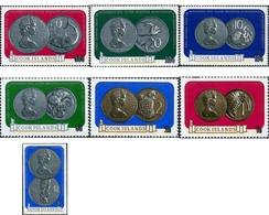 Ref. 65543 * MNH * - COOK Islands. 1973. MONEDAS EN HONOR A LAS BODAS DE PLATA - Monedas