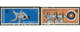 Ref. 27304 * MNH * - SOUTH KOREA. 1971. 52nd NATIONAL GAMES . 52 ENCUENTRO DEPORTIVO NACIONAL. - Tir à L'Arc