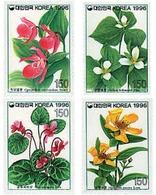Ref. 83317 * MNH * - SOUTH KOREA. 1996. WILD FLOWERS . FLORES SILVESTRES - Korea (Süd-)