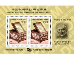 Ref. 132455 * MNH * - SOUTH KOREA. 1990. PHILATELIC WEEK . SEMANA FILATELICA - Korea (Süd-)