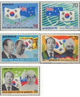 Ref. 162108 * MNH * - SOUTH KOREA. 1983. VISITAS DEL PRESIDENTE CHUN DOO HWAN - Corea Del Sud