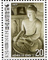 Ref. 288782 * MNH * - SOUTH KOREA. 1977. 2600 ANIVERSARIO DEL NACIMIENTO DE BUDA - Corea Del Sud