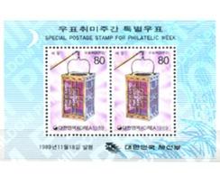 Ref. 288980 * MNH * - SOUTH KOREA. 1989. PHILATELIC WEEK . SEMANA DE LA FILATELIA - Korea (Süd-)