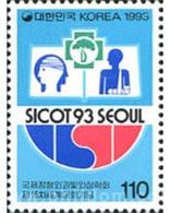 "Ref. 289032 * MNH * - SOUTH KOREA. 1993. 19 CONGRESO MUNDIAL ""SICOT 93"" - Korea (Süd-)"