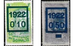 Ref. 605015 * MNH * - SOMALI COAST. 1922. INDIGENOUS . INDIGENAS - Neufs