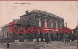 Leopoldsburg Bourg-Leopold La Gare De Statie Station ZELDZAAM Geanimeerd - Leopoldsburg